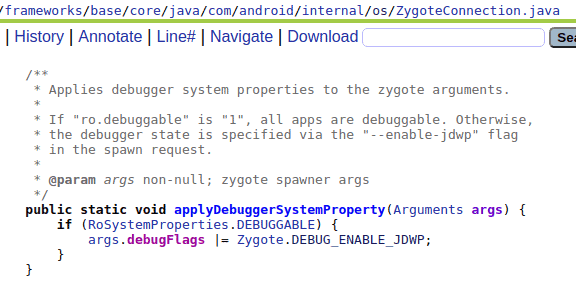 AOSP research  JDWP & How to Debug 3rd Party Android Apps