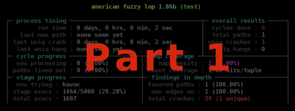 Fuzzing Part 1: The Theory